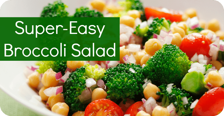 Super-Easy Broccoli Salad