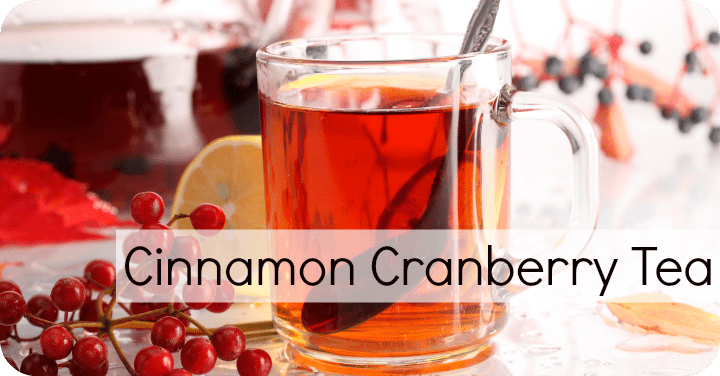 Cinnamon Cranberry Tea