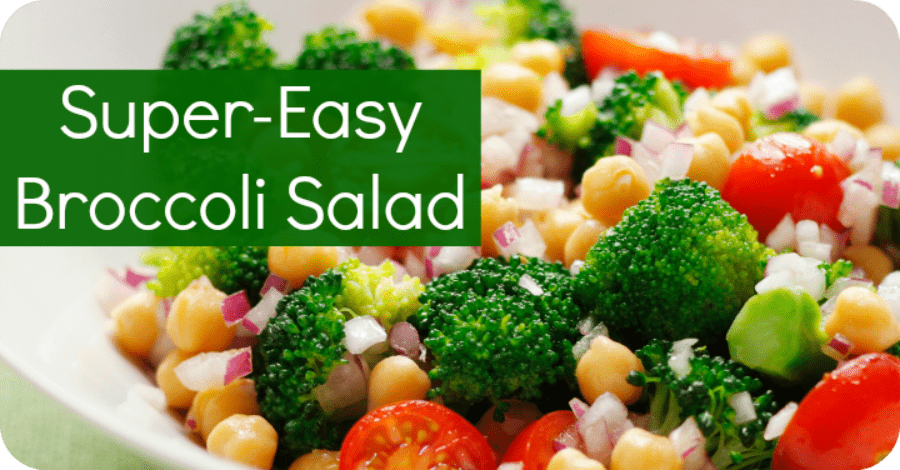 Super Easy Broccoli Salad Recipe - https://healthpositiveinfo.com/super-easy-broccoli-salad.html