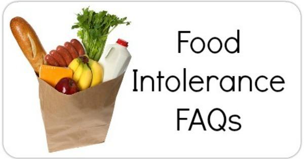Food Intolerance FAQs