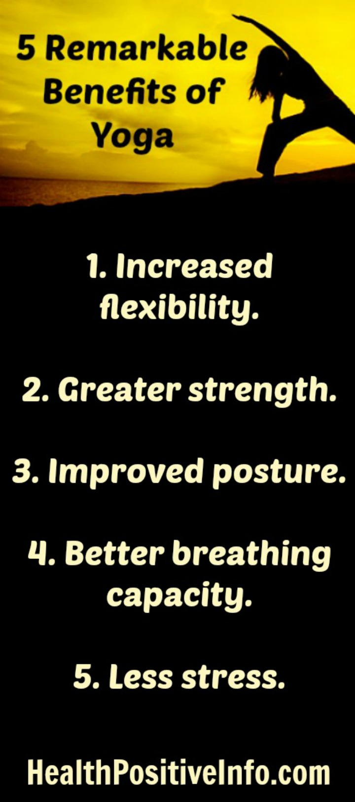 5 Remarkable Benefits of Yoga - https://healthpositiveinfo.com/5-remarkable-benefits-of-yoga.html