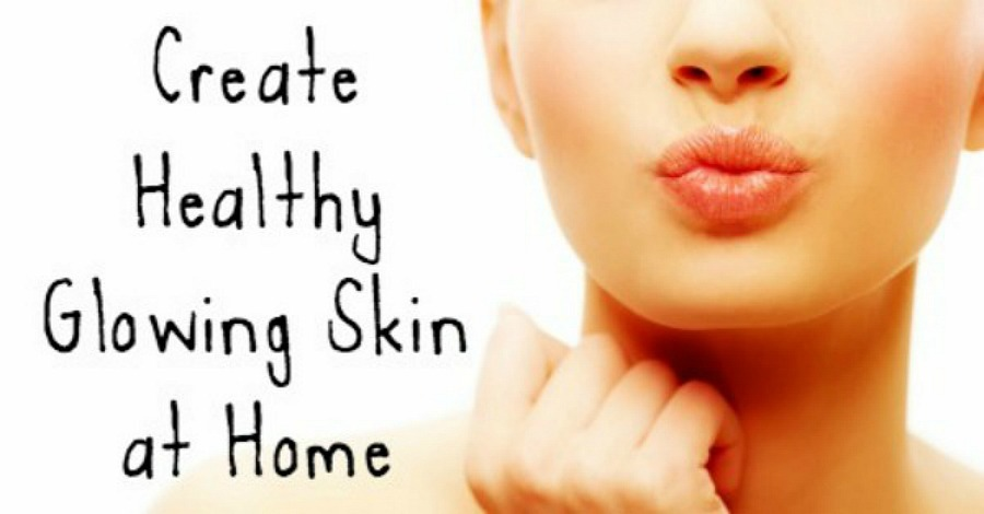 Create Healthy Glowing Skin at Home - https://healthpositiveinfo.com/create-healthy-glowing-skin-at-home.html