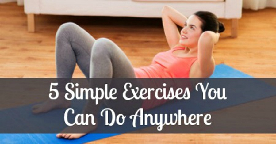 5 Simple Exercises You Can Do Anywhere