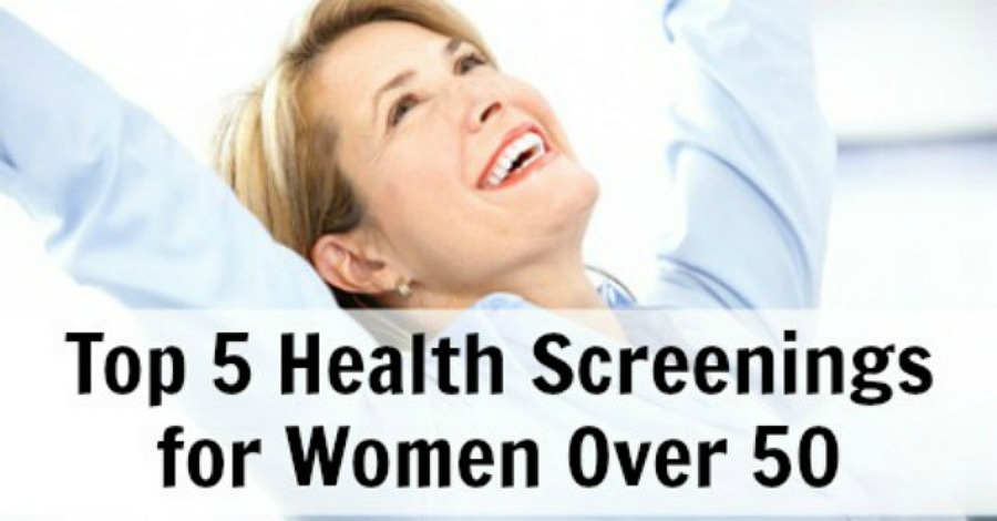 Top 5 Health Screenings for Women Over 50 - https://healthpositiveinfo.com/health-screenings-women-over-50.html