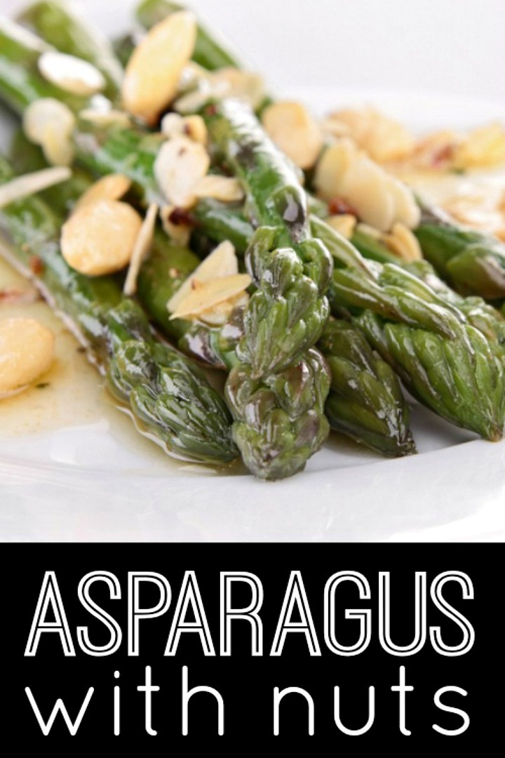 Asparagus with Nuts Recipe - https://healthpositiveinfo.com/asparagus-with-nuts.html