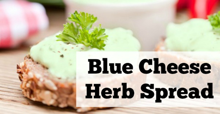 Blue Cheese Herb Spread Recipe - https://healthpositiveinfo.com/blue-cheese-herb-spread.html