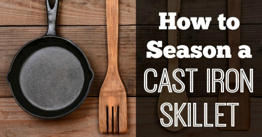 How to Season a Cast Iron Skillet - https://healthpositiveinfo.com/how-to-season-a-cast-iron-skillet.html