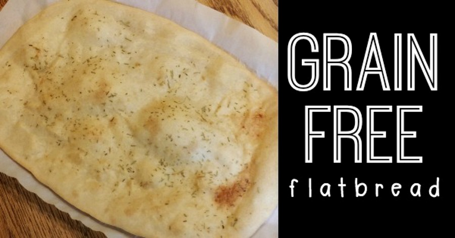 Grain Free Flatbread Recipe - https://healthpositiveinfo.com/grain-free-flatbread.html