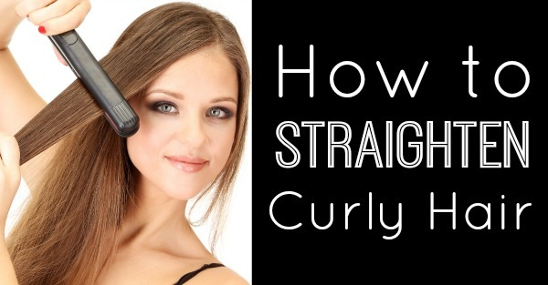 How to Straighten Curly Hair ~ https://healthpositiveinfo.com/how-to-straighten-curly-hair.html