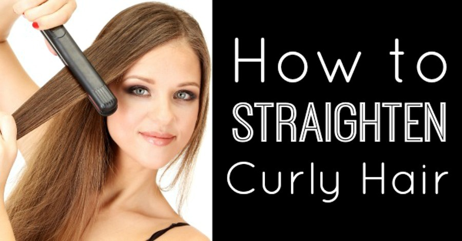 How to Straighten Curly Hair - https://healthpositiveinfo.com/how-to-straighten-curly-hair.html