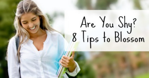 Are You Shy 8 Tips to Blossom ~ http://healthpositiveinfo.com/are-you-shy-8-tips-to-blossom.html