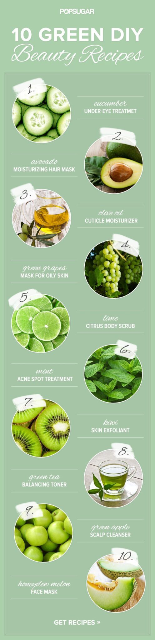 10 Beauty DIY Recipes That Are Green in Every Way ~ https://healthpositiveinfo.com/8-beauty-diy-tips-and-hacks.html