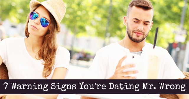 Warning signs online dating