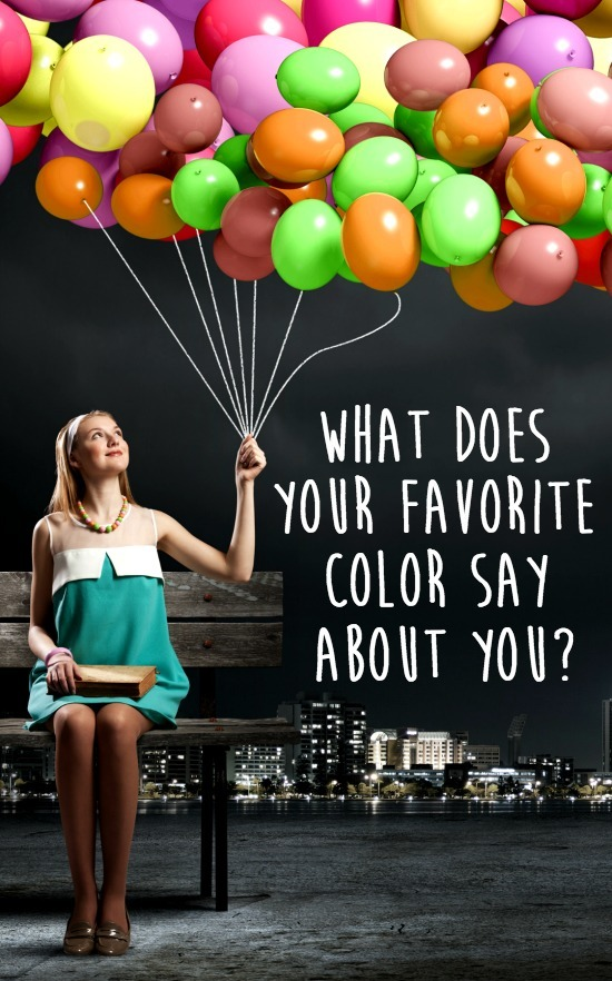 What Does Your Favorite Color Say About You