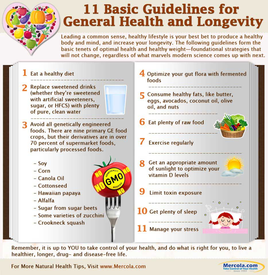 11 Keys to Great Health and Longevity - https://healthpositiveinfo.com/great-health-and-longevity.html