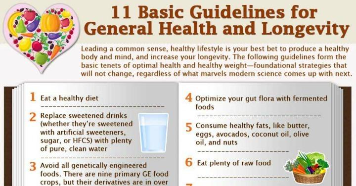11 Keys to Great Health and Longevity