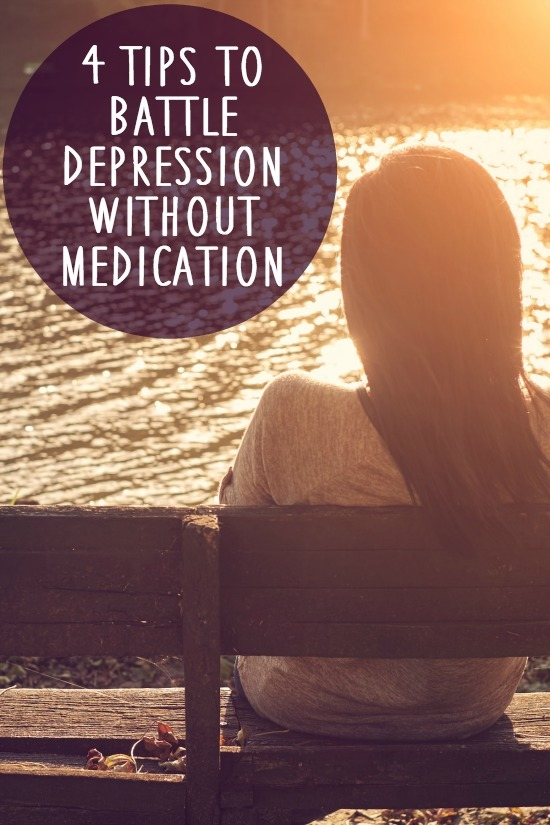 4 Tips to Battle Depression without Medication ~ https://healthpositiveinfo.com/battle-depression-without-medication.html