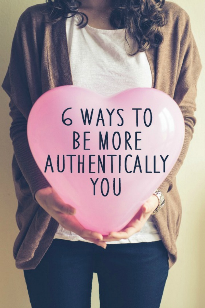 6 Ways to Be More Authentically You - https://healthpositiveinfo.com/ways-to-be-more-authentically-you.html