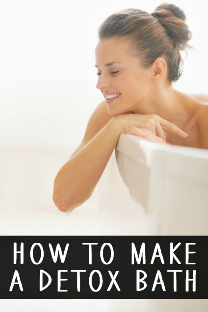 How to Make a Detox Bath - https://healthpositiveinfo.com/how-to-make-a-detox-bath.html