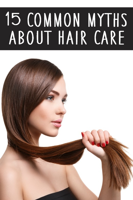 15 Common Myths about Hair Care ~ https://healthpositiveinfo.com/myths-about-hair-care.html