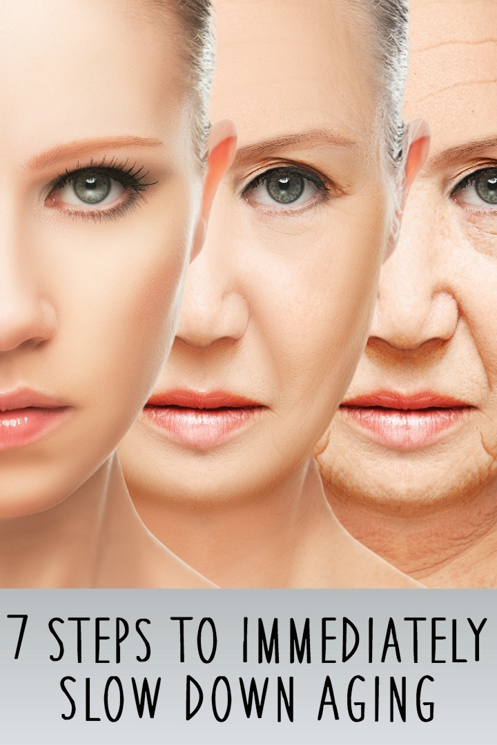 7 Steps To Immediately Slow Down Aging ~ https://healthpositiveinfo.com/slow-down-aging.html