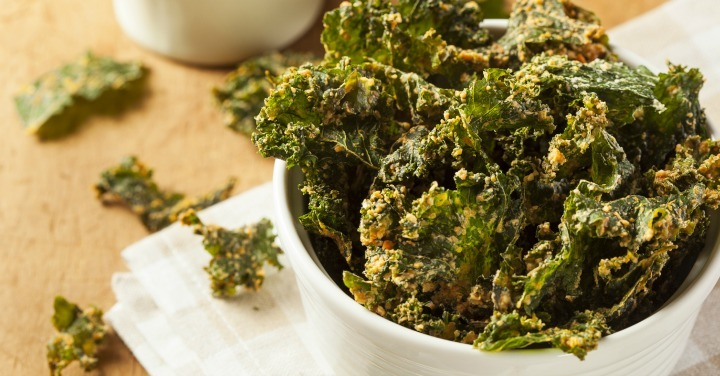 Amazingly Delicious Kale Chips