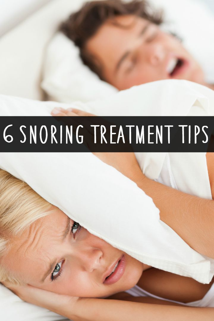 6 Snoring Treatment Tips ~ https://healthpositiveinfo.com/6-snoring-treatment-tips.html