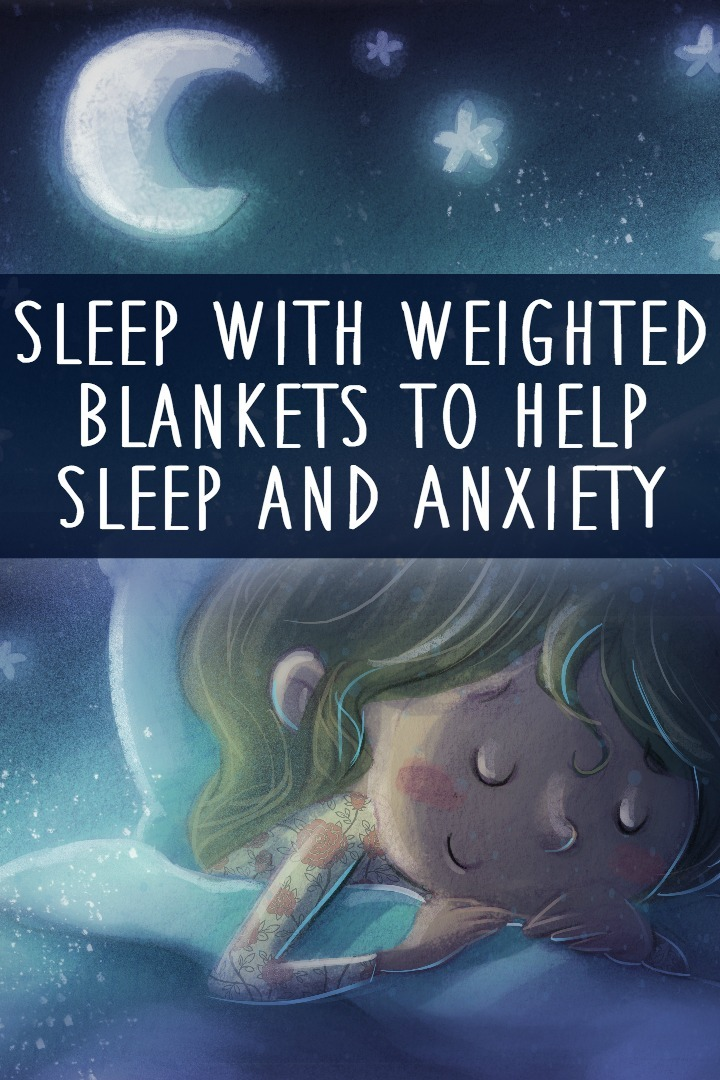 Sleep With Weighted Blankets to Help Sleep and Anxiety ~ https://healthpositiveinfo.com/sleep-with-weighted-blankets-to-help-sleep-and-anxiety.html