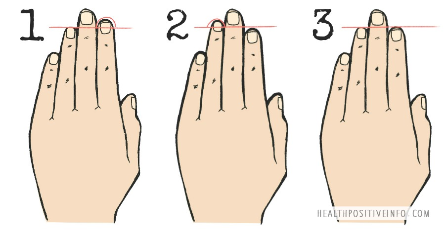 Here's What the Length of Your Fingers Reveals About Your Personality https://healthpositiveinfo.com/length-of-your-fingers-personality.html